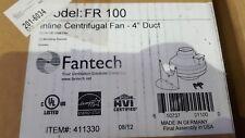 "FANTECH FR100 INLINE CENTRIFUGAL FAN 4"" DUCT (BR6.4)"