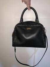 black kate spade purse; Silver Studs: OBO