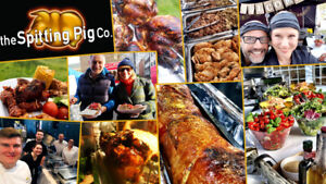 Hog Roast Machine Catering Business For Sale In Wales