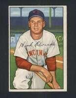 1952 Bowman #141 Hank Edwards EX/EX+ Reds 101736