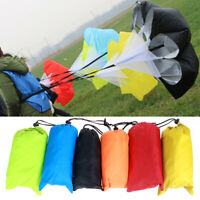 Speed Training Drills Resistance Parachute Running Drag Sprint Chute Sport  _Q
