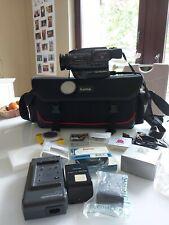 S-VHS-C Klassiker Panasonic NV-S99 Hifi-Stereo Camcorder ANALOG mit viel Zubehör