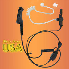 FBI Headset Earpiece Earphone NNTN8459 for Motorola XPR7000 XPR6500 DP4801