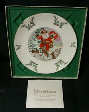 Royal Doulton Christmas Plate 1982 - House Of Representatives