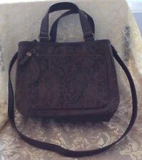a51852efaf1 RELIC BY FOSSIL Brown Shoulder Bag Handbag, Embossed Tooled Faux Leather