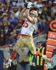 George Kittle Catch SAN FRANCISCO 49ERS 8x10 Authentic Photo