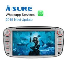 "7""IPS Autoradio GPS DVD 2019Navi SWC Mulitmedia BT Ford Mondeo Focus C/S-Max DAB"