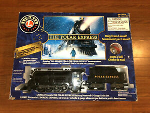Lionel Polar Express G-Gauge Train Set 7-11022 Battery Powered Remote Controlled