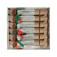 MERI MERI CHRISTMAS Sparkly Sausage Dog Small Luxury Christmas Crackers (6 Pack)