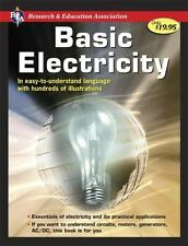 Handbook of Basic Electricity by Research & Education Association Paperback Book