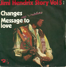 "Jimi Hendrix - Changes (7"") 1972 France - Price code J & Sacem logo on label"