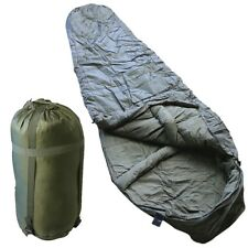 ARMY CADET SLEEPING BAG SYSTEM -7 DEGREES CAMPNG FIELD EXERCISE WATER RESISTANT