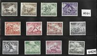 #6424   Complete MNH stamp set / Wehrmacht & other Military 1943 / Third Reich