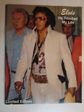 ELVIS PRESLEY HE TOUCHED MY LIFE LIMITED EDITION 1978 PHOTO MAGAZINE RARE OOP