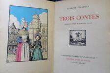 Trois contes –G.Flaubert -1931-illustrations