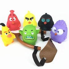 Fun Angry Birds Figures Slingshot Shooting Flip Bird Game Kids Boy Girl Toy Gift