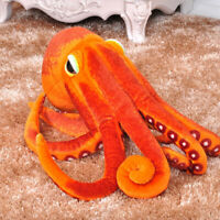 Octopus Plush Toys Pillow Seat Cushion Backrest stuffed for children gift 30CM.