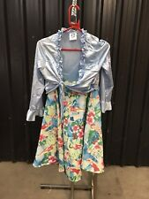 ex hire fancydress costumes - Hawaiian Lady Dress With Tie Front Size Small