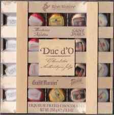 Duc d'O - Liqueur Liquor Filled Belgian Chocolate in a wooden box 250 gr - 20pc.