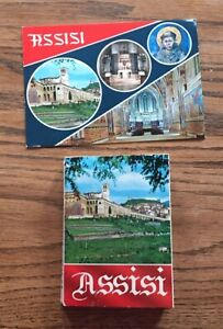 ASSISI, ITALY SOUVENIR PICTURE CARD SET - TWENTY - TWO (22) PICTURE CARD SET