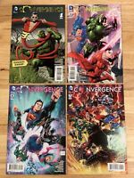 DC Convergence Lot Of 4 Comic Books Variant Covers, Brian Bolland, Tony Daniel