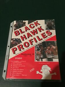 Chicago Blackhawks Profiles magazine vol. 2 1985-86