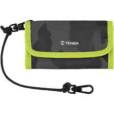 Tenba Reload SD 6 Card Wallet - Holds up to 6 SD cards - Camouflage/Lime