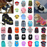 Small Dog T-Shirt Vest Pet Puppy Cat Summer Clothes Coat Top Outfit Costume Lot