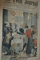 Supplément illustré Le Petit Journal N°846 / 3-2-1907 / Petits tableaux de Paris