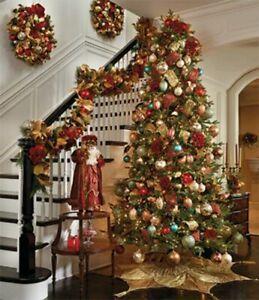 Mixed Lot Christmas Tree Balls Baubles Xmas Ornament Home Decor 24/30/50PCS UK