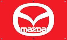 Mazda Banner 3'x5' vinyl garage mancave sign 3,6, protege, miata