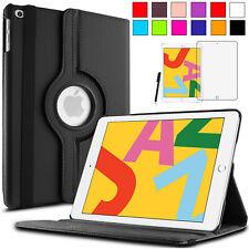 360°Apple iPad 10.2 2019 Schutz Hülle Case Smart Cover Etui Tasche +Pen +Folie