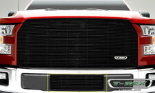 Ford F150 Billet Bumper Grille Polished Black Powder Coated Grille fits 2015-201