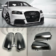 Audi A3/S3 8P Polished Chrome Aluminium Mirror Covers 'S3 Style' 2003-2008 Year