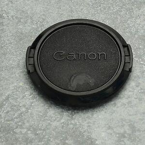 Retro Genuine Canon FD C 52mm Snap-On Front Lens Cap 50mm 1.8 (#1332)