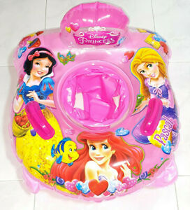 Disney Princess Sweety Inflatable Swimming Ring Seat Float with Handle