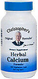 Herbal Calcium Formula by Christopher's Original Formulas, 100 capsules