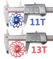 Bicycle 13T Ceramic Jockey Wheels 11/10/9/8/7 Speed for Shimano Sram XX, XO, X9,