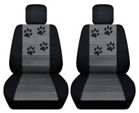 Fits 2013-2018 Mitsubishi Outlander  front set car seat covers with design