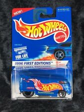 "Hot Wheels 1996 First Editions VW Drag Bus Shipped in a HW ""Kar Keeper"""