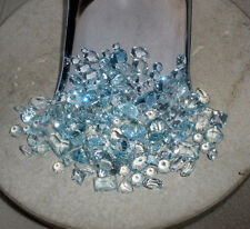 Aquamarine natural gem mix loose faceted parcel over 20 carats