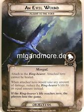 Lord of the Rings LCG  - 1x An Evil Wound  #057 - The Black Riders