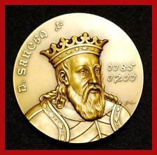 Monarchy / King Sancho I the Populator / Castle / Great Bronze Medal! (M.****)