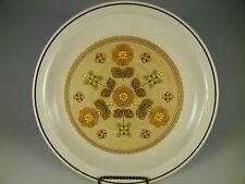 Nikko Stoneware TOPAZ Brown Yellow Green Floral Salad/Dessert Plates 7 3/8 in.