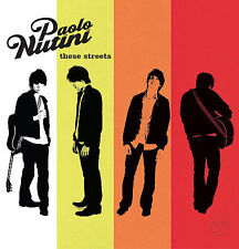 PAOLO NUTINI These Streets CD BRAND NEW