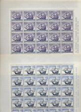 SPAIN 1964 SHIPS 5 vals.in MINT FULL SHEETS..125 stamps