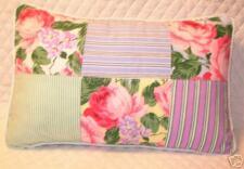 Pillow made w Ralph Lauren Watermill Patchwork Fabric B