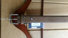 "Ben Sherman Men's Tan Brown Leather Belt | Size M 32""-25"" | RRP £30"