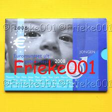 Nederland - Pays-Bas - Babyset jongen 2008 bu
