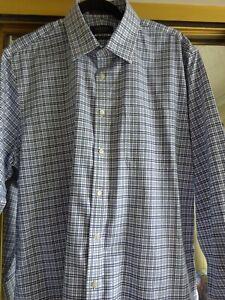 Nordstrom Mens long sleeve dress Shirt 16x33